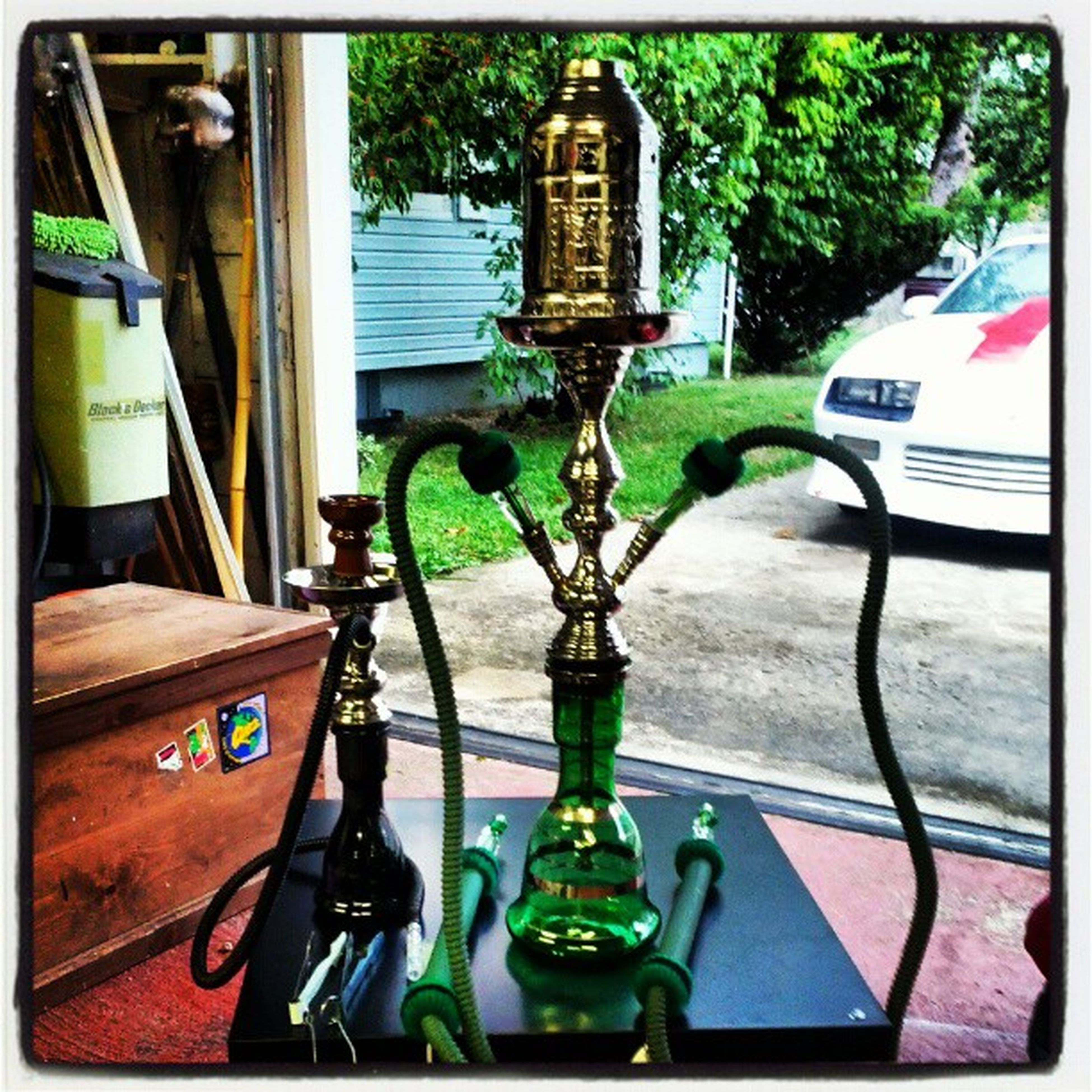 Got my first Hookah today, its an Egyptionhookah I got the Nammor hoses and a Vortexbowl