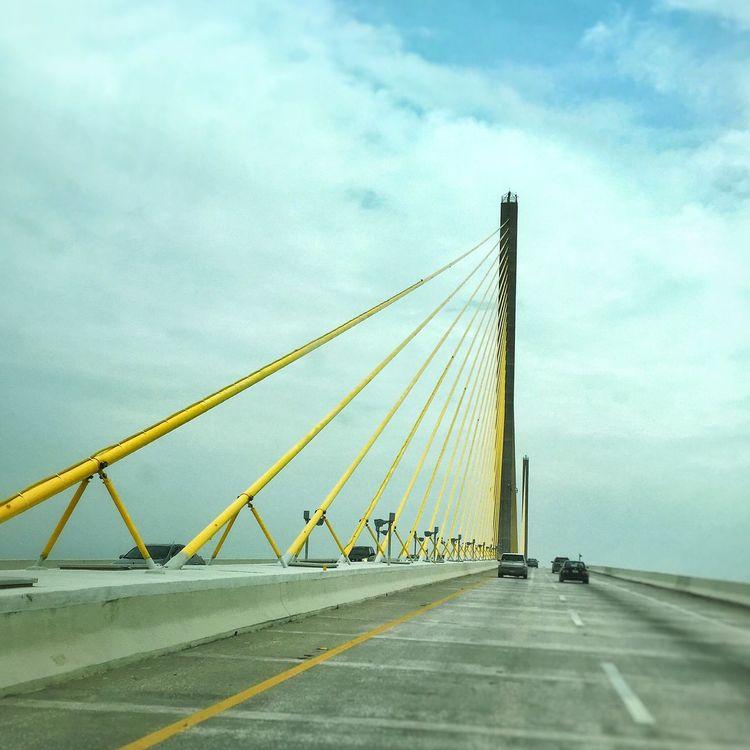 Bridge Sky Cloudy Travel