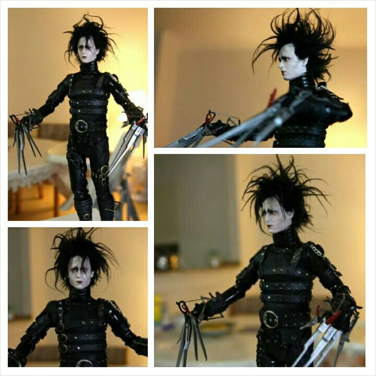 Edwardscissorhands Edward Scissorhands Johnnydepp Johnny Depp Onesixthscale Actionfigure Action Figures Hottoys Hot Toys Xenoviper First Eyeem Photo