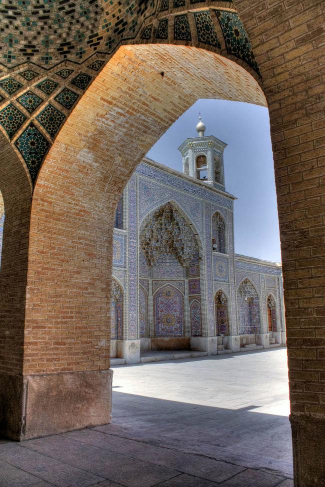 Nasirolmolk Mosque... Hdri Architecture Historical Building Iran