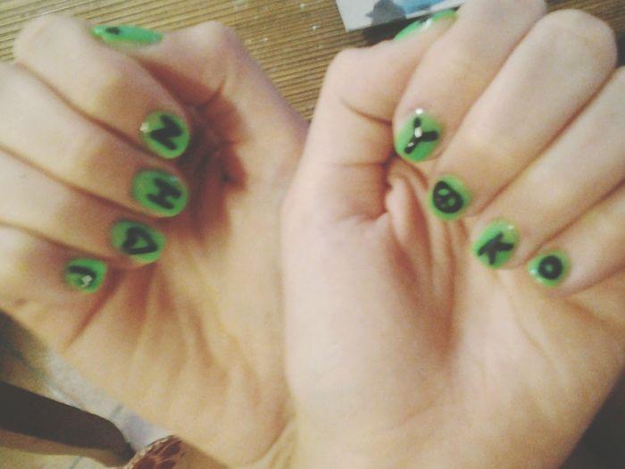 John Lennon Yoko Hono My Nails  Nails Art Peace And Love War Is Over