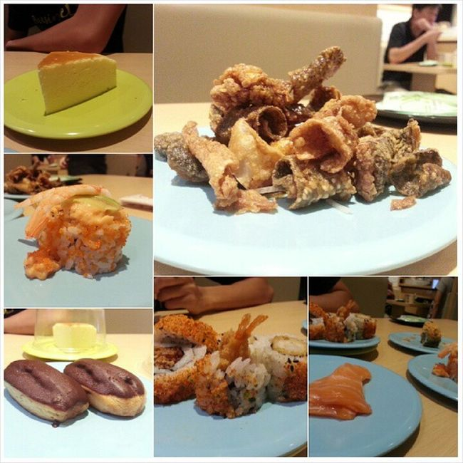 Sushi Lunch before movie ;) @jyangsaw Nihonmura Badservice Lunch Cathay