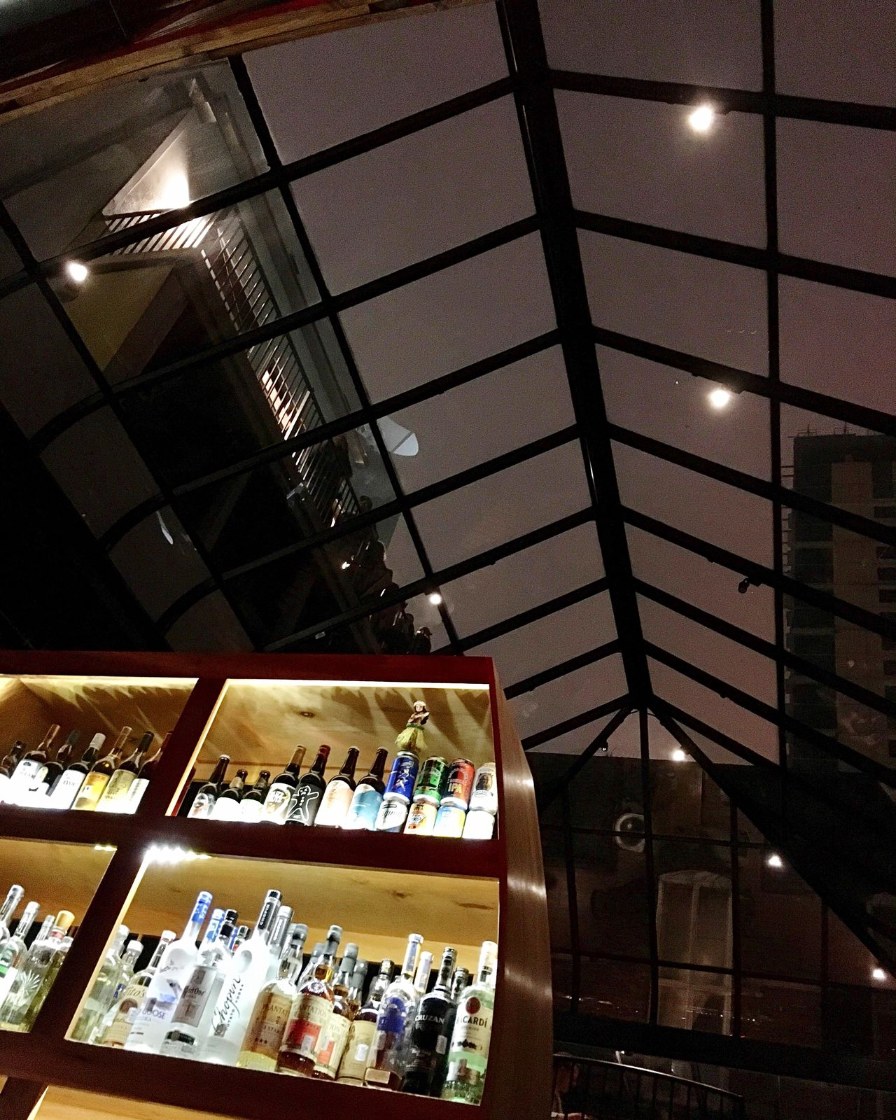 The City Light Indoors  No People Illuminated Architecture Day Bar Downtown Houston Low Angle View