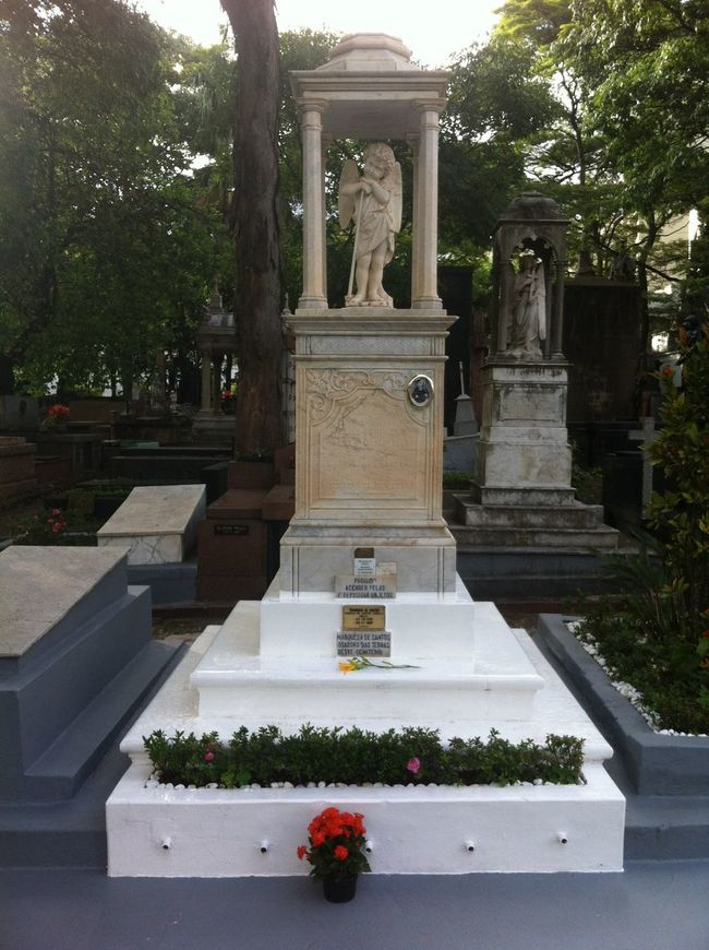 Marquesa De Santos Cemetery Graveyard São Paulo