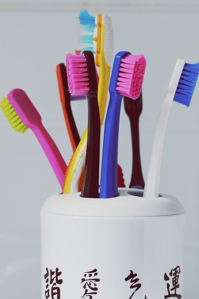 Big family. Toothbrush Tooth Teeth Toothbrushes Family Colors Colorful Color Portrait Hello World Dentist Dentistry Taking Photos Macro Photography Macro Macro_collection Dental Clinic Dental Dental Student Hygiene