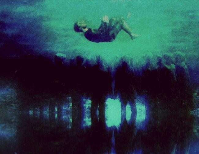 Underwater Group Bleu Reflection Atlantida