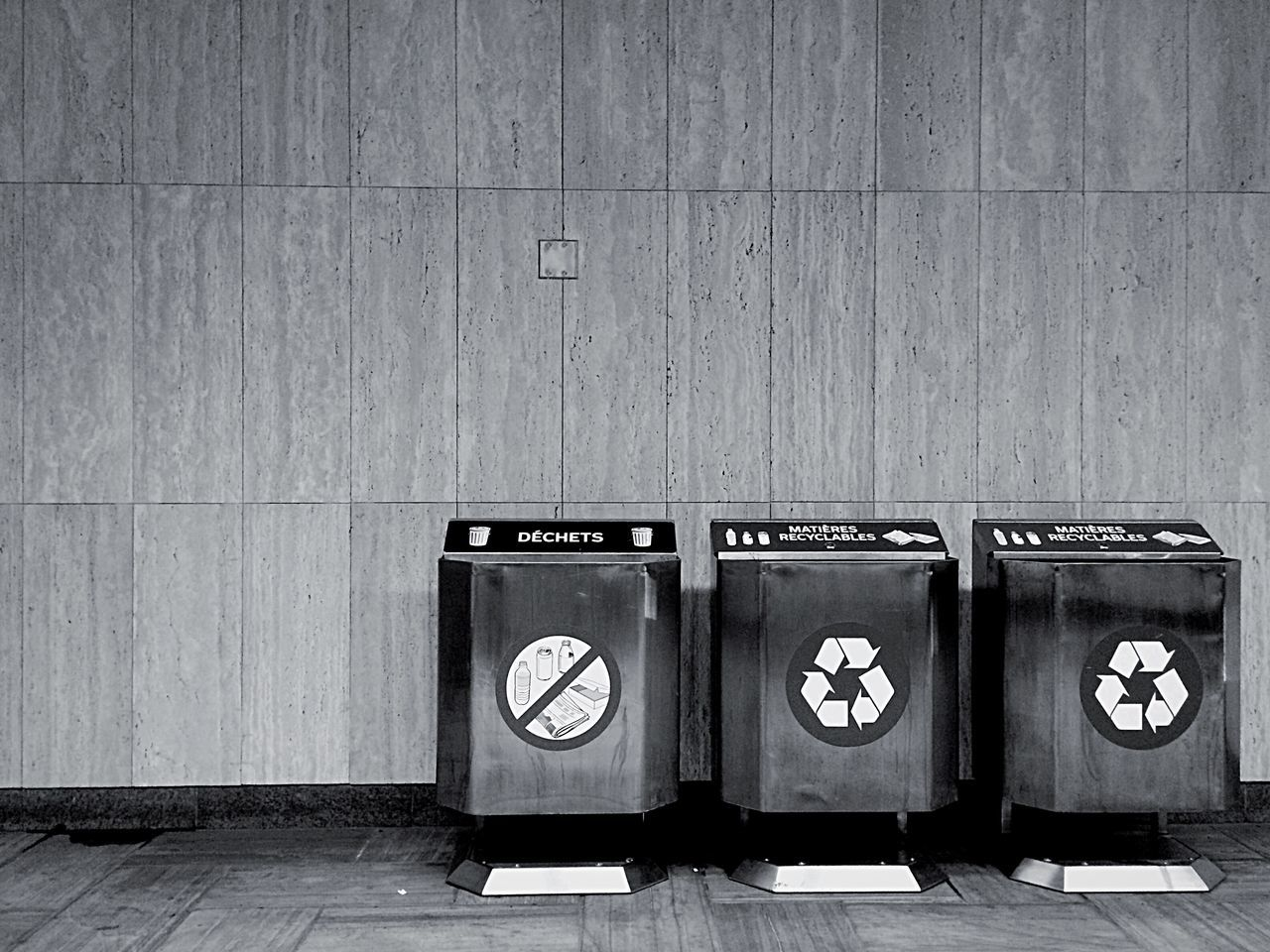 Any kind of means to help the Environment Gotta Stay Clean Smart Simplicity Blackandwhite Monochrome Recycle Clean City Minimal Simplicity