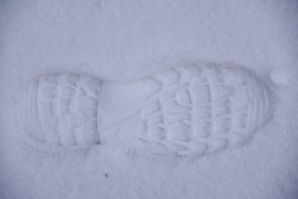 Nature Schnee Schweiz Shoeprints Natur Schuhabdruck Shoeprint Snow Switzerland