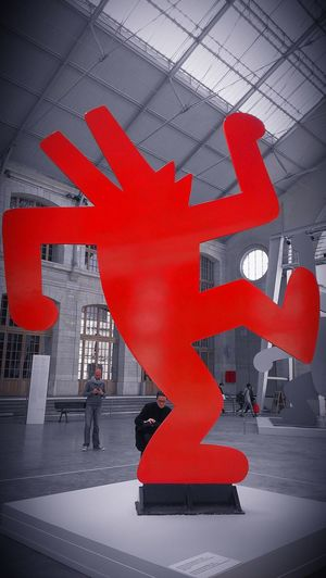 104 Sculpture Keith Haring