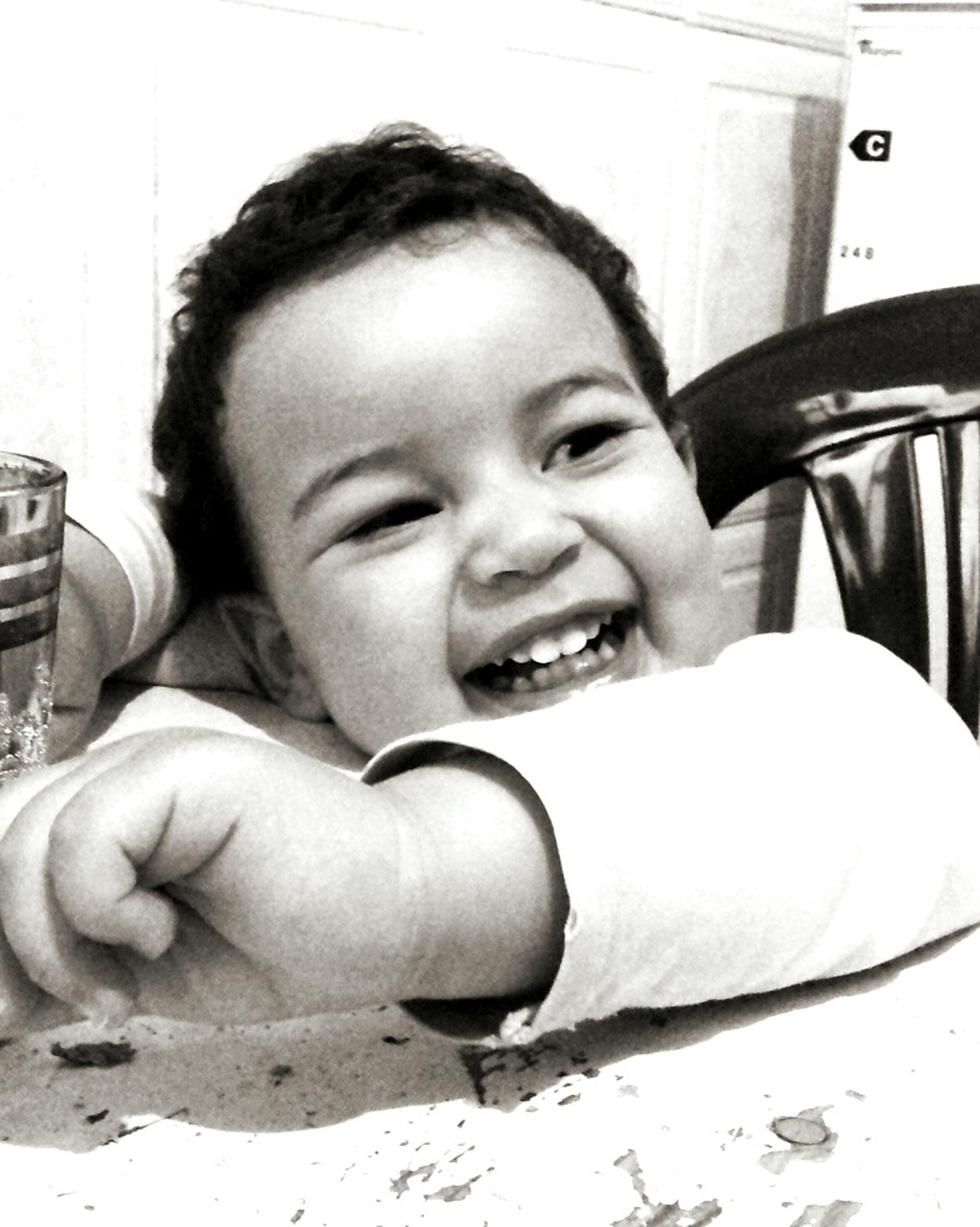 Babe Smiling