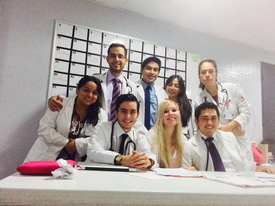 Team Tercer Piso Hospitalespañol SBE  Español Medicina Interna MD