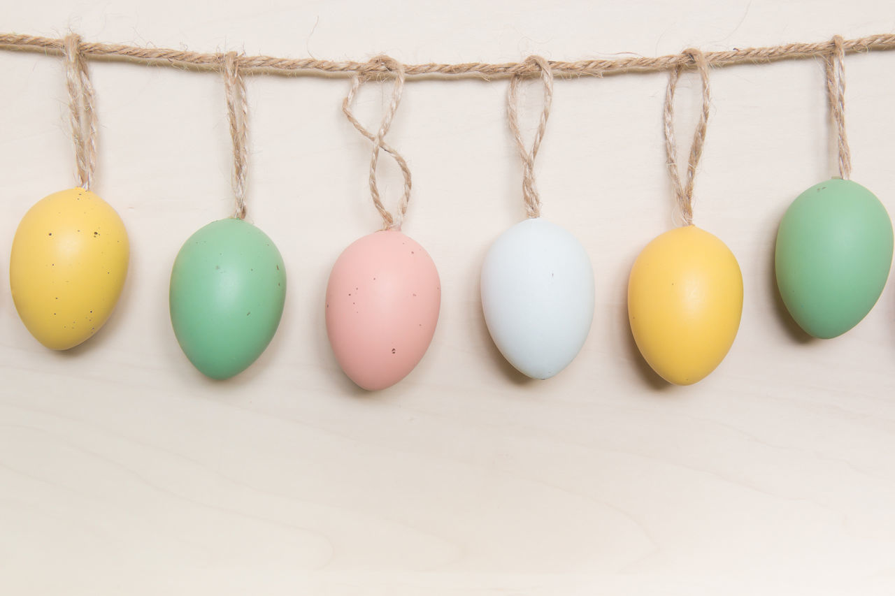 Decoration Easter Easter Easter Eggs Eggs Holiday Multi Colored Religion Tradition
