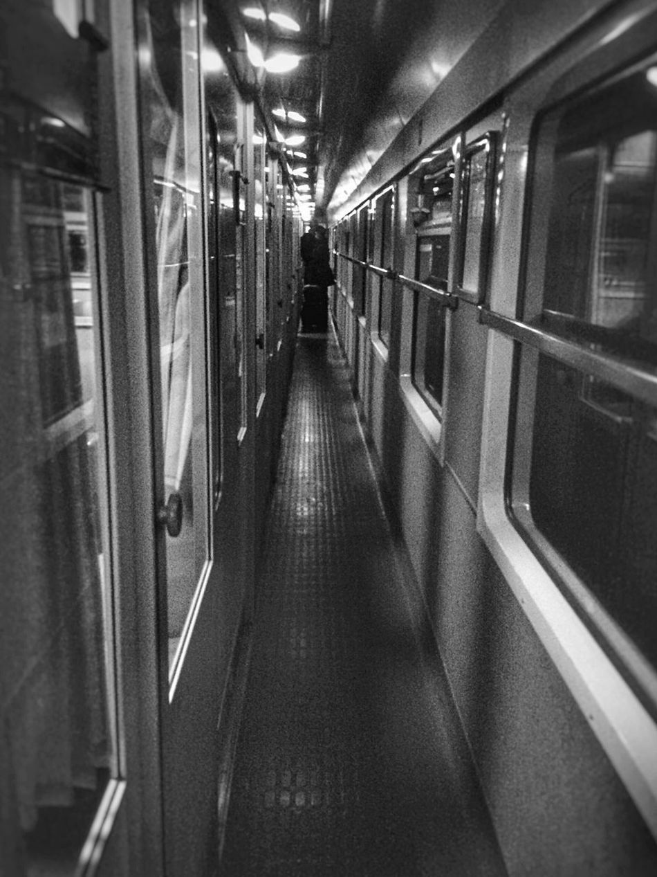 Train Wagon  Trainphotography Bkackandwhite Black & White Black And White Couloir Ambiance Ter Travel Transportation Aquitaine Mode Of Transport People