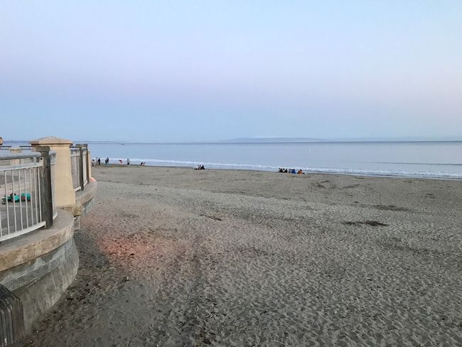 Beach Sea Sand Horizon Over Water Nature Water Tranquil Scene Tranquility Scenics Beauty In Nature Sky Day Outdoors No People Clear Sky Architecture Avila Beach CA Sunset