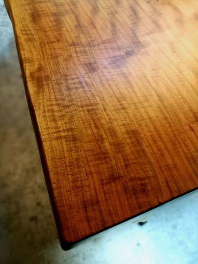 Sakura Cherry Table Handmade Close-up Brown No People Textured  Wood - Material Japan Indoors  EyeEm Ready