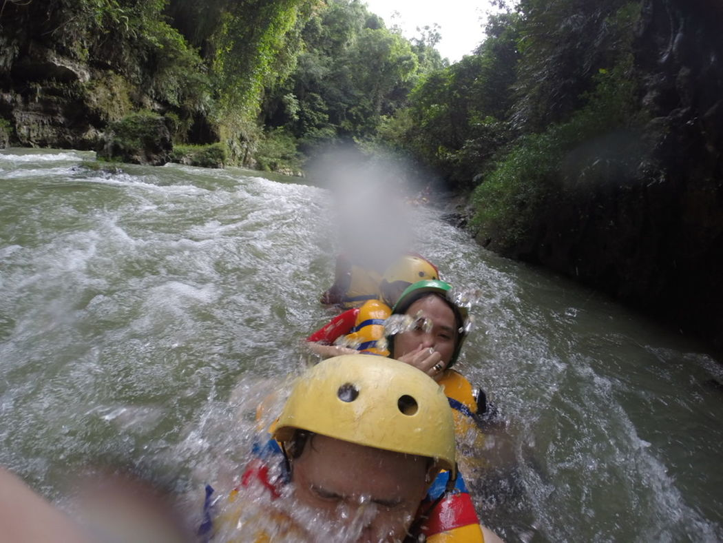 The Moment - 2015 EyeEm Awards Green Canyon Pangandaran Beach INDONESIA Bodyrafting GoPro Hero3+ Familytrip Nature