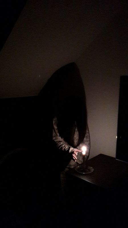 The biggest fear Fear Haunted Paranormal Light And Shadow Ghost Searchingforthelight