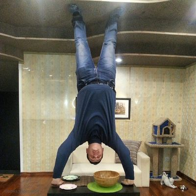 "20141109 , Россия , Новосибирск . ПаркЧудес ""Галилео"". Комната нарушенной гравитации;-) / Russia, Novosibirsk. ParkOfWonderland ""Galileo"". Room of disturbed gravity;-)"