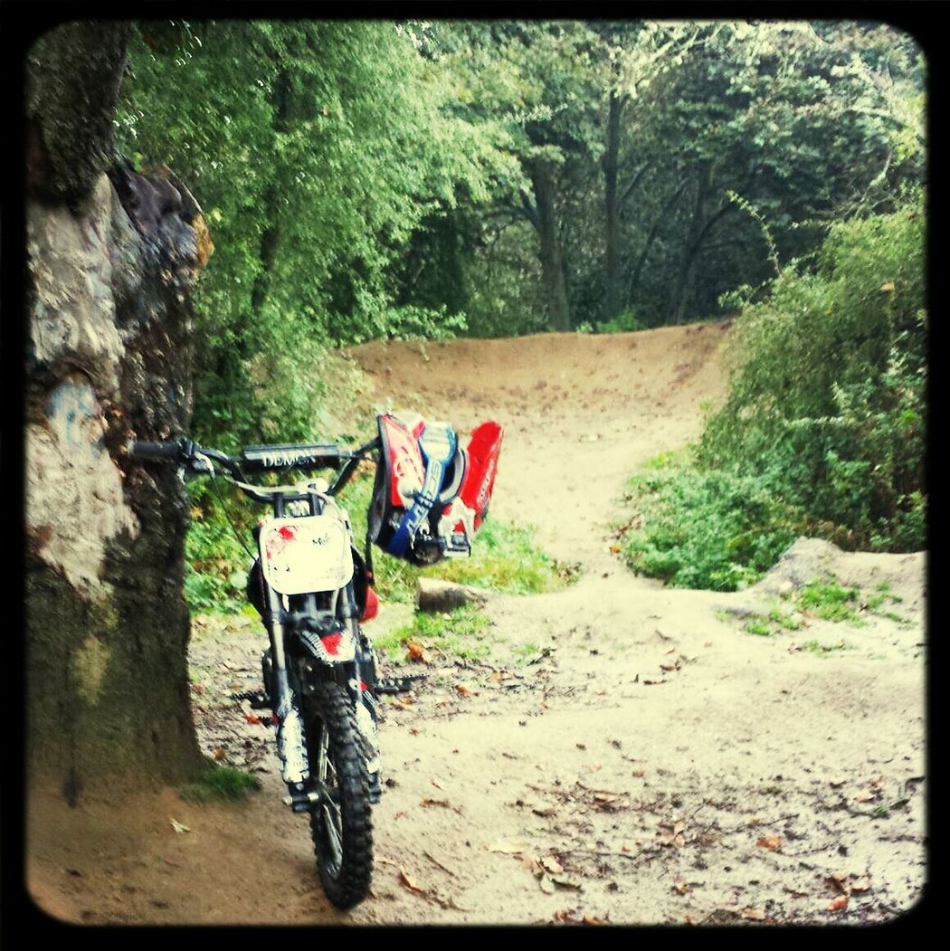 Demon X 110cc Pitbike Jump