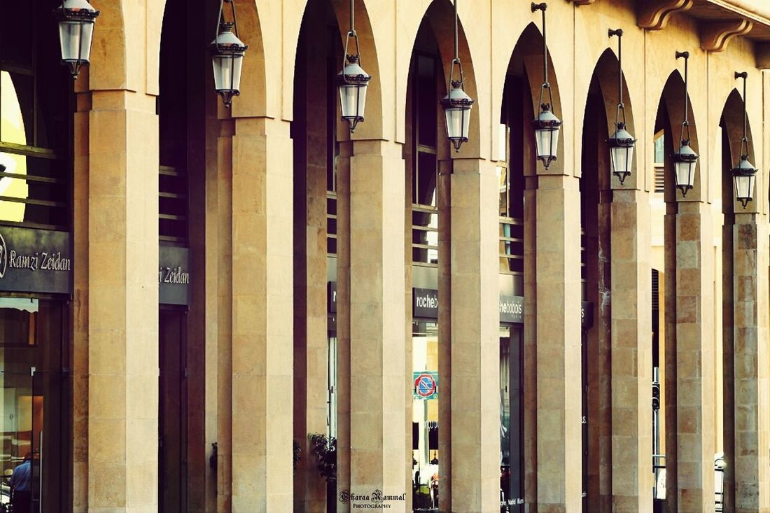 Rows Of Things Lebanon In Photos Downtown Beirut Architecture