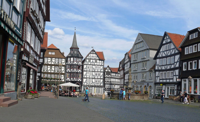 Altstadt Architecture Building Exterior Built Structure City City Gate Cityscape Cloud - Sky Day Fritzlar Hessen Marktplatz No People Nordhessen Oldtown Oldtown Oldcity Oldtownsquare Outdoors Sky Travel Destinations Urban Skyline