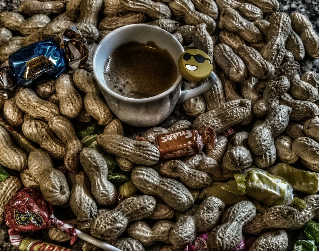 Kaffeeimpression.... Coffee Nuts Xperiaz2