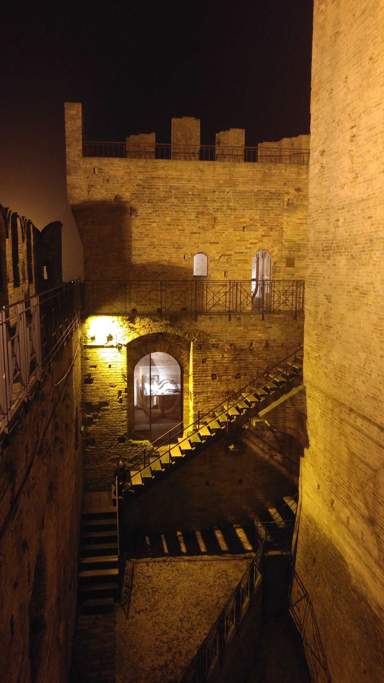Illuminated Night No People Architecture Outdoors Medieval MedievalTown Medievalcastle Stairs Mistery Ghost