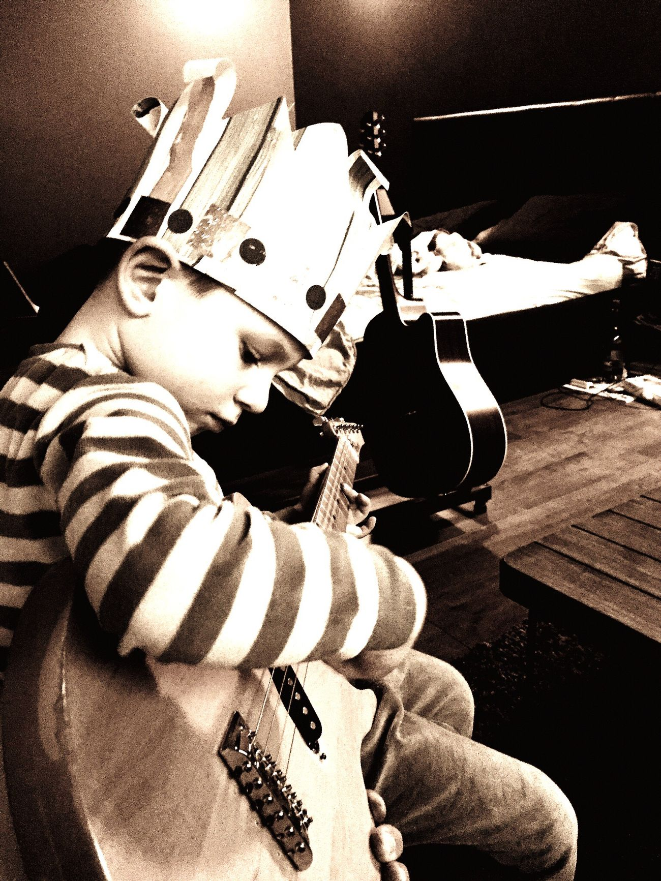 Playing Guitar First Eyeem Photo