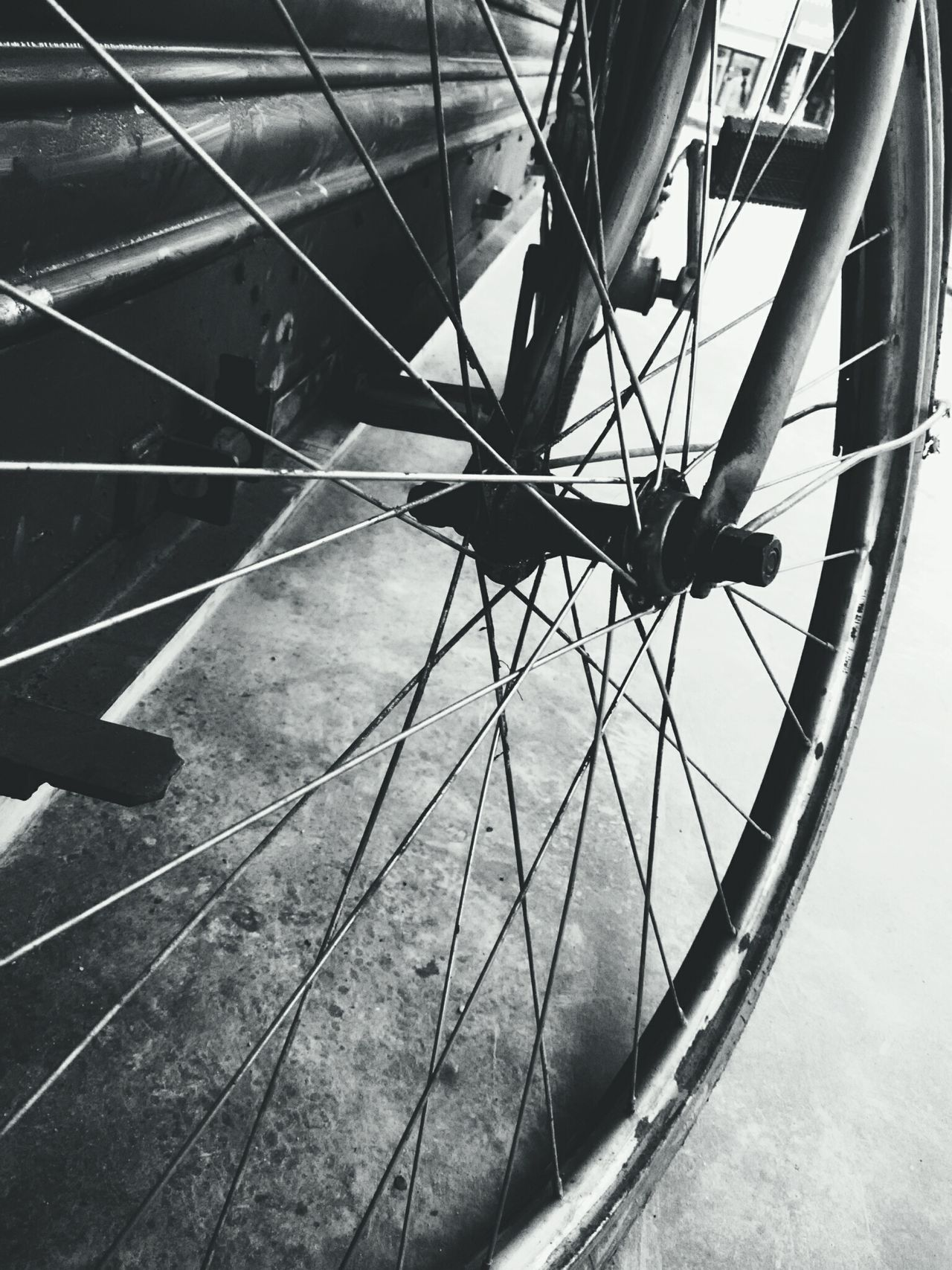 Black And White Vintage Bicycles Street Life Fine Art Textures Bicycle Wheel Machines And Vehicles Wheels Contrast Vintage