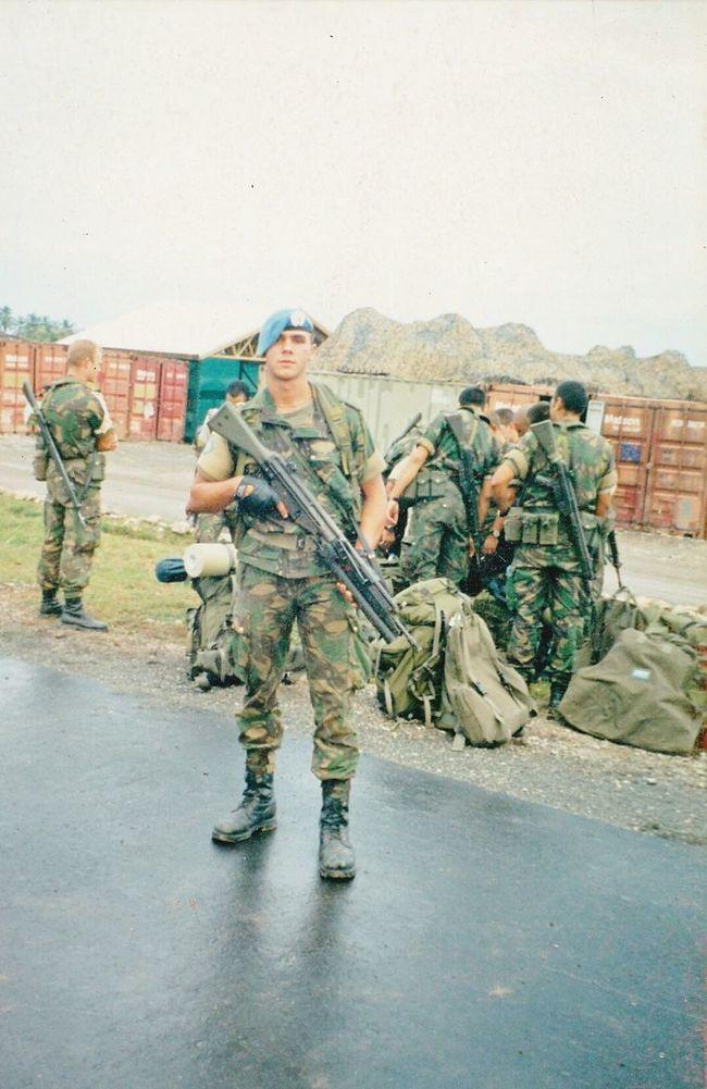 Military Police Photography Timor