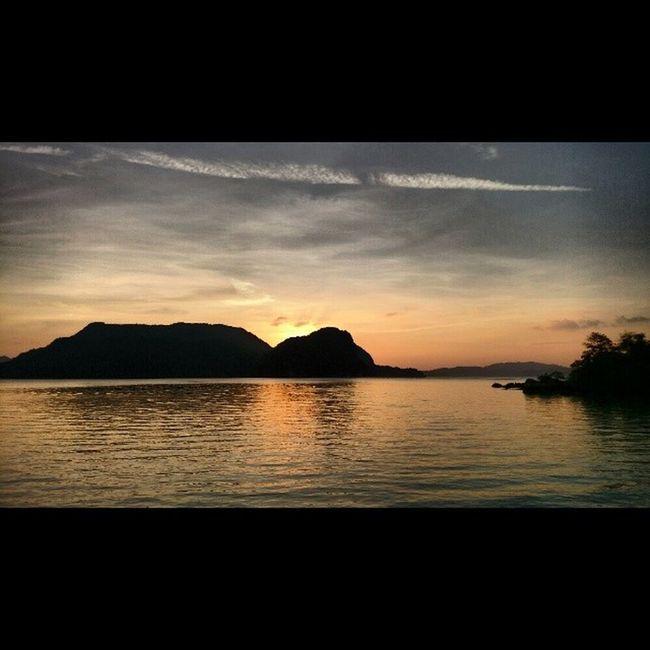 Gorgeous sunset this eve Langkawai ASIA