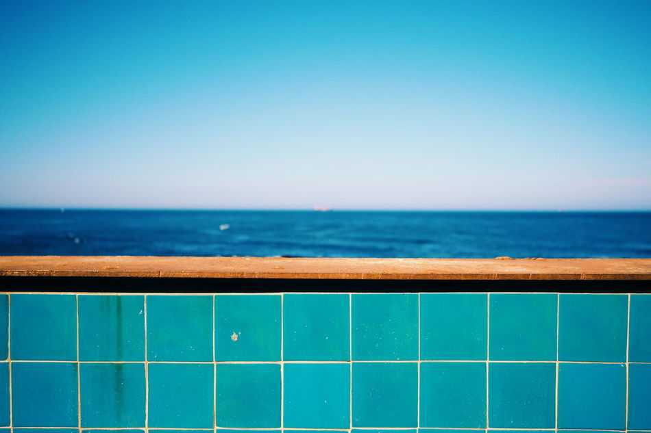 The blue blue sea... Enjoying Life Summer Blue Relaxing From My Point Of View Getting Inspired Showcase June Travel Photography Getting Creative Portugal Sea And Sky Seaside Sea Minimalism Minimalobsession Summertime Summer ☀ Blue Sea Fine Art Photography Hikinggalicia Exploring Style