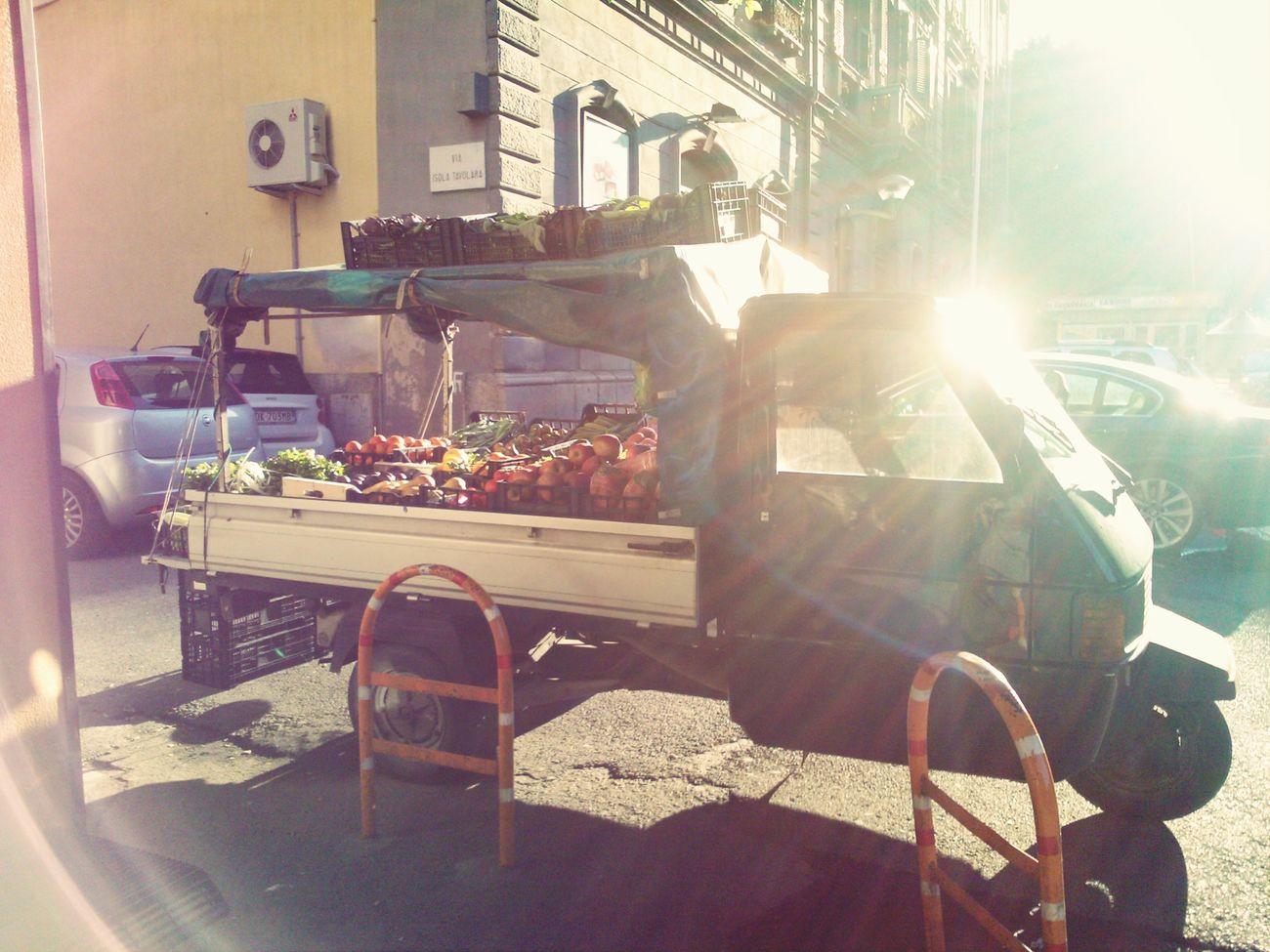 Street Merchants Cagliari