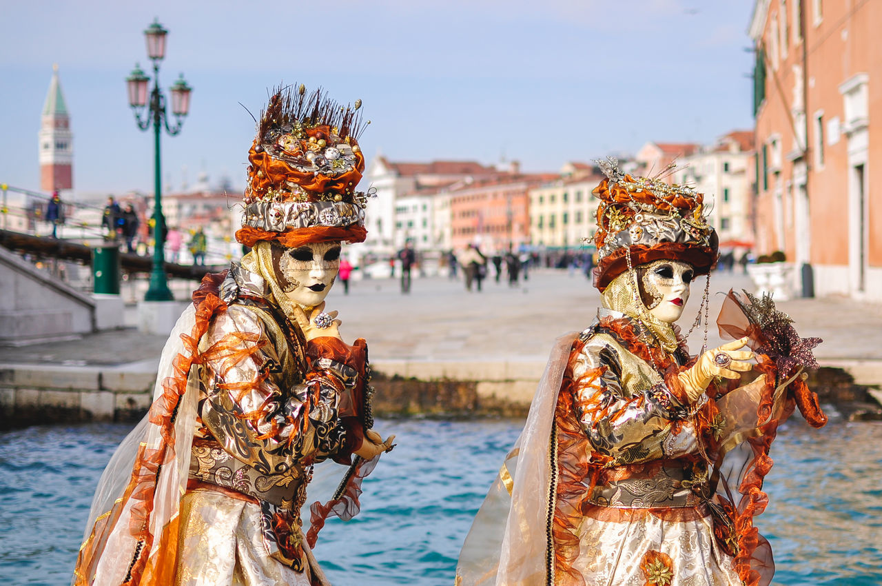 Canal Carnival Carnival - Celebration Event Carnival Crowds And Details Carnival Of Venice Carnival Spirit Day End Of Winter February Gondola - Traditional Boat Gondolier Italia Italy Mask Masks Masque Masquerade Outdoors Travel Destinations Venetian Mask Venetto Venezia Venice Venice Beach Venice Carnival