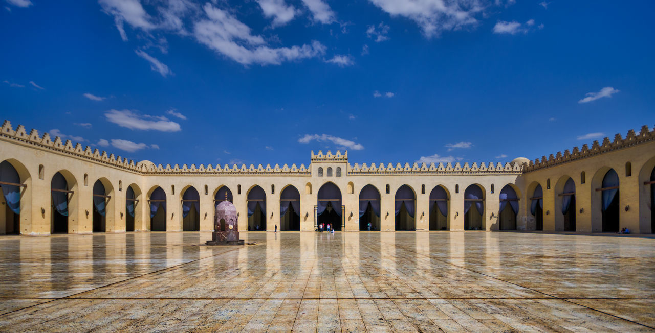 Beautiful stock photos of ägypten, Al-Hakim Mosque, Arch, Architectural Column, Architecture