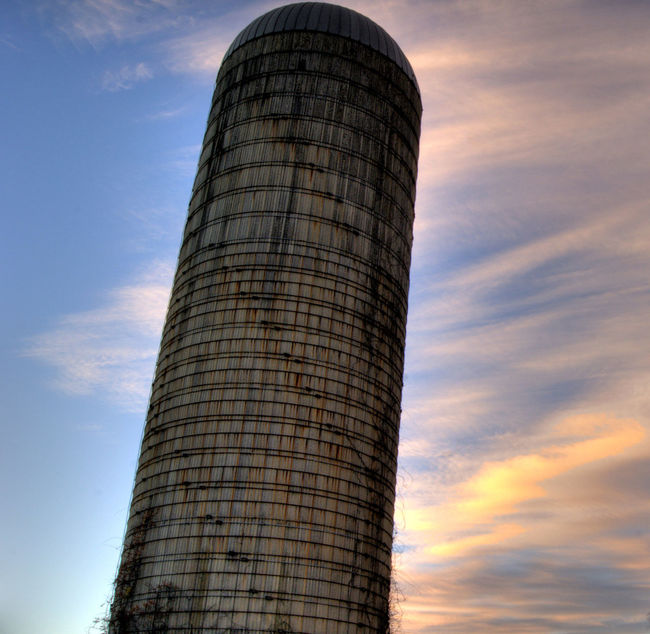 Sky Low Angle View Architecture Built Structure Tower Cloud - Sky Tall - High Outdoors Travel Destinations Tall Cloudy Famous Place Modern No People Abandoned Old Buildings Silo Cloudscape Low Angle View Building Exterior Architecture Nj New Jersey