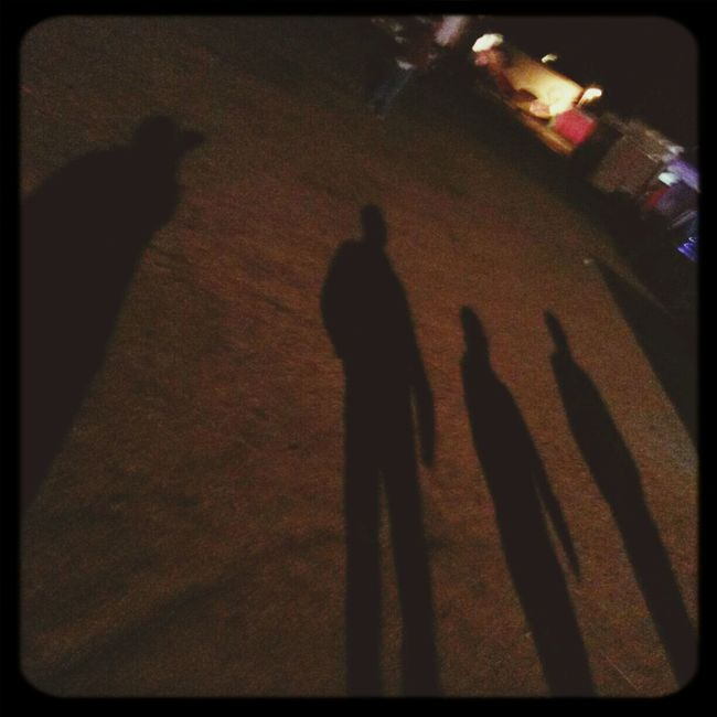 the creeps.... Shadows Creeps Night They Are Here