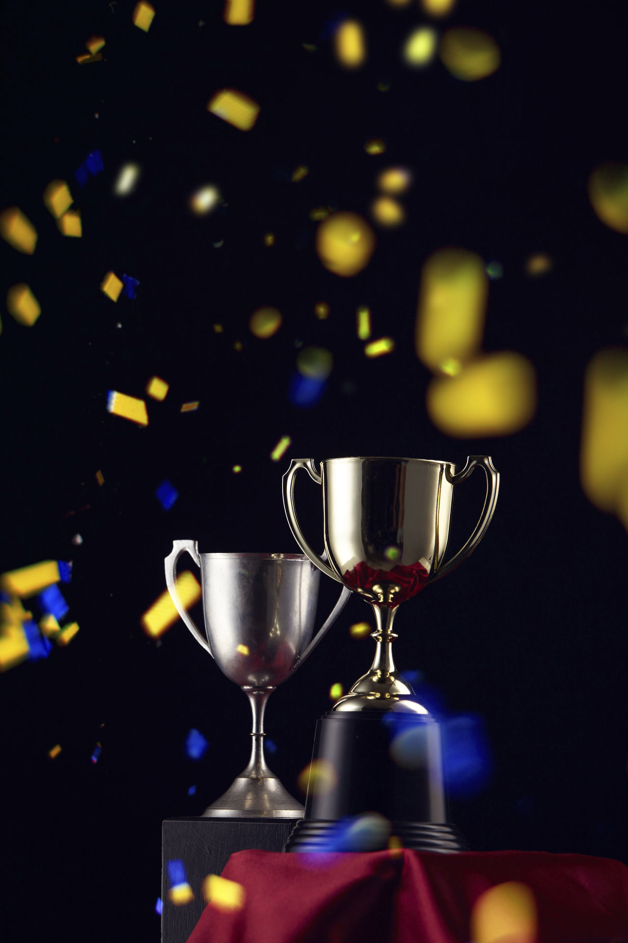 trophy on the black background Achieve Achievement AWARD Bestoftheday Black Challenge Championship Concept Contest Determination Goal Honor Inspiration Light Motivation Place Pride Prize Reward Shiny Success Symbol Trophy Victory Winter