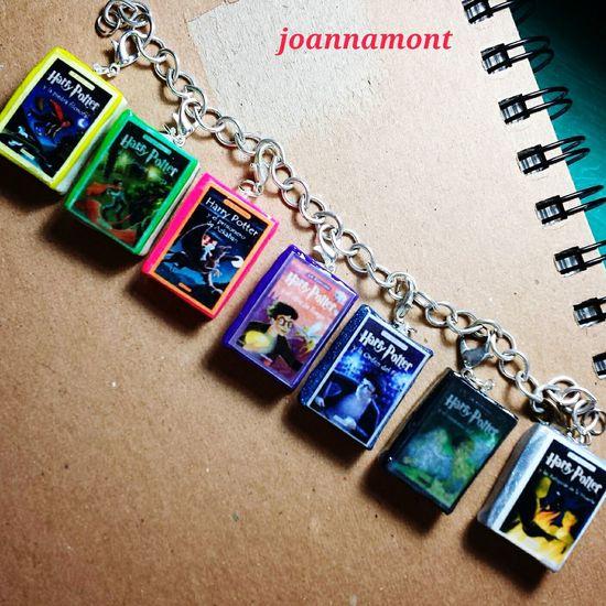 Mini Libros Mini Books ♥ Charms Jewerly Harrypotter Handmade