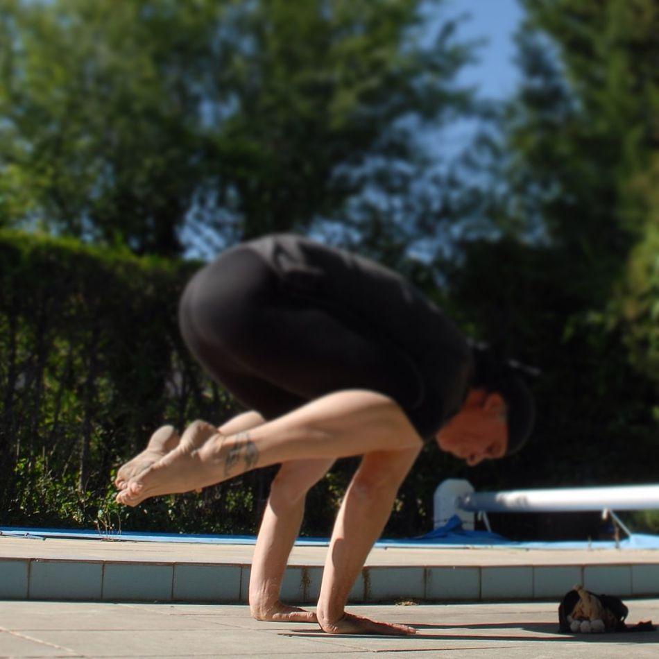 OM Inner Peace Freedom Barefoot Lifestyle Yogi Feet Just Live Barefoot Yoga Namaste Relaxing Bakasana