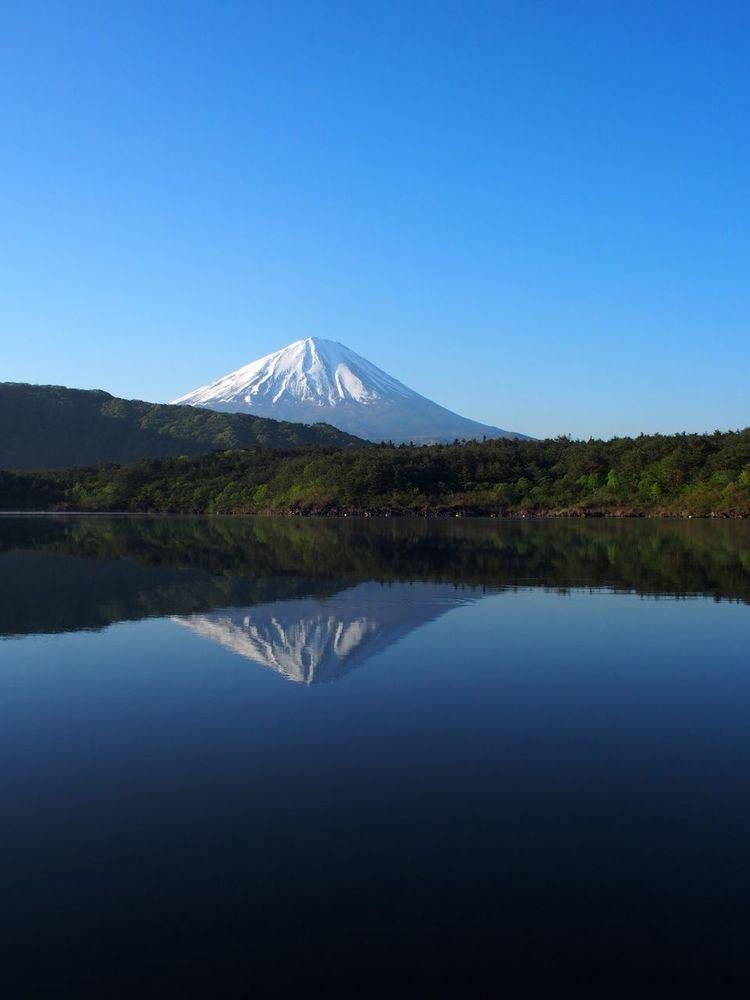 Mountain Beauty In Nature Lake Mt.Fuji Fujisan Japan Photography Saiko Saiko_lake Yamanashi Japan Olympus Olympus Pen