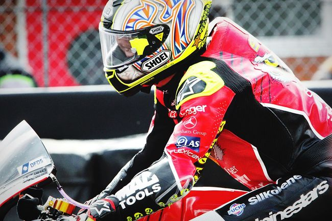 Shakey Byrne Bsb British Super Bikes Oultonpark First Eyeem Photo