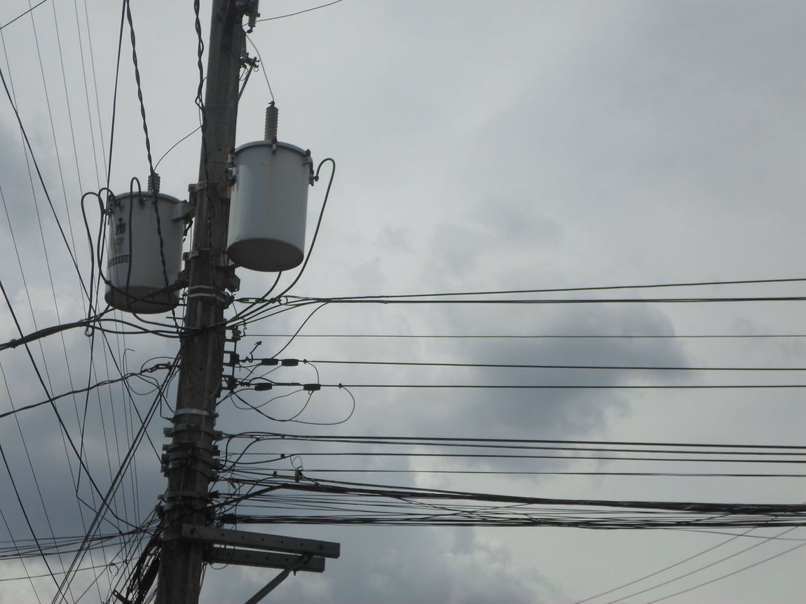 Cable Connection Electricity  Electricity Pylon Fuel And Power Generation Low Angle View Outdoors Power Line  Power Supply Sky Wires Wires And Cables Wire Wires And Sky