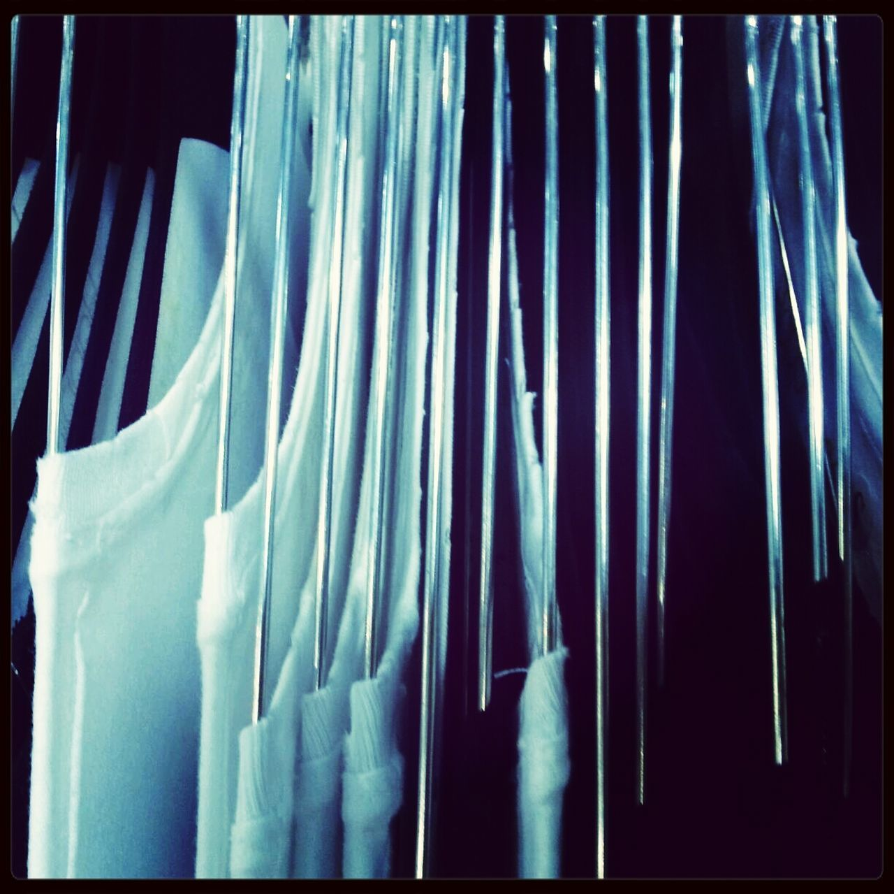hanging, no people, curtain, textile, indoors, drapes, panoramic, close-up, day, coathanger