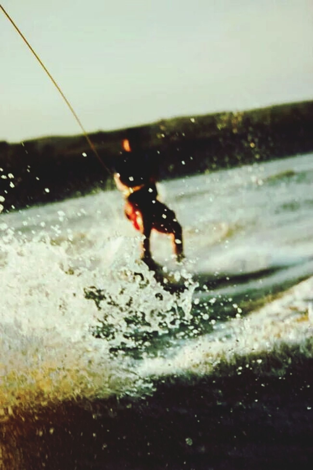 Wake Boarding Tuttlecreek Lake