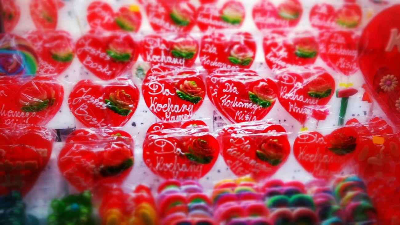 Love Serce Lolypop Lizaki