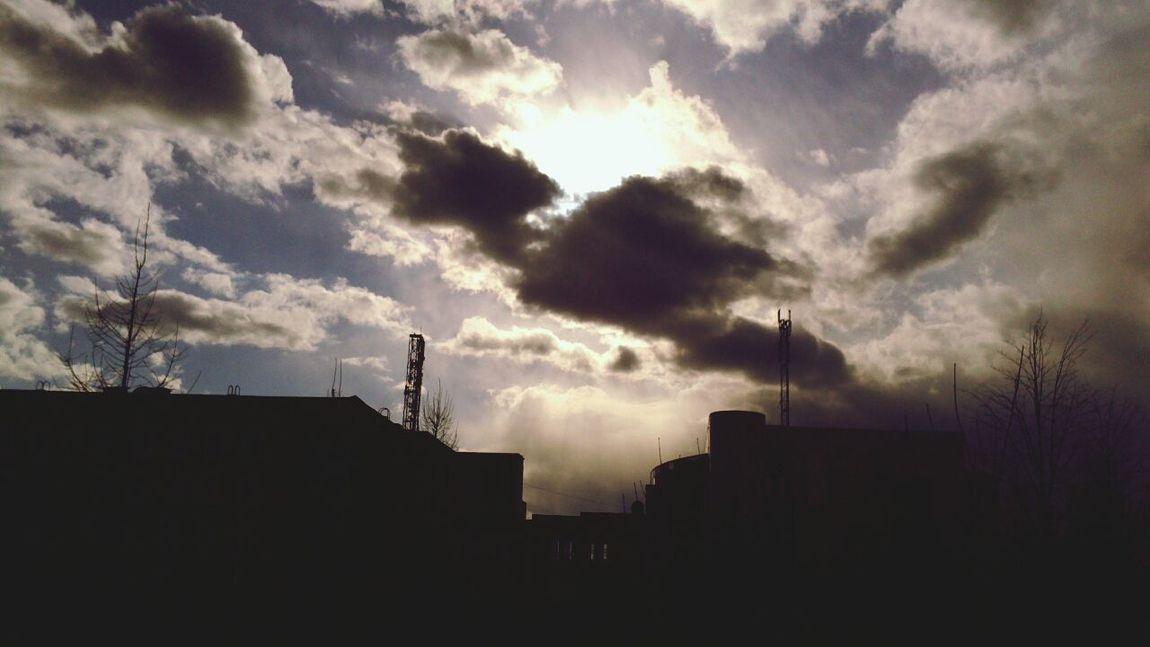 Sky And Clouds Chelyabinsk CSU