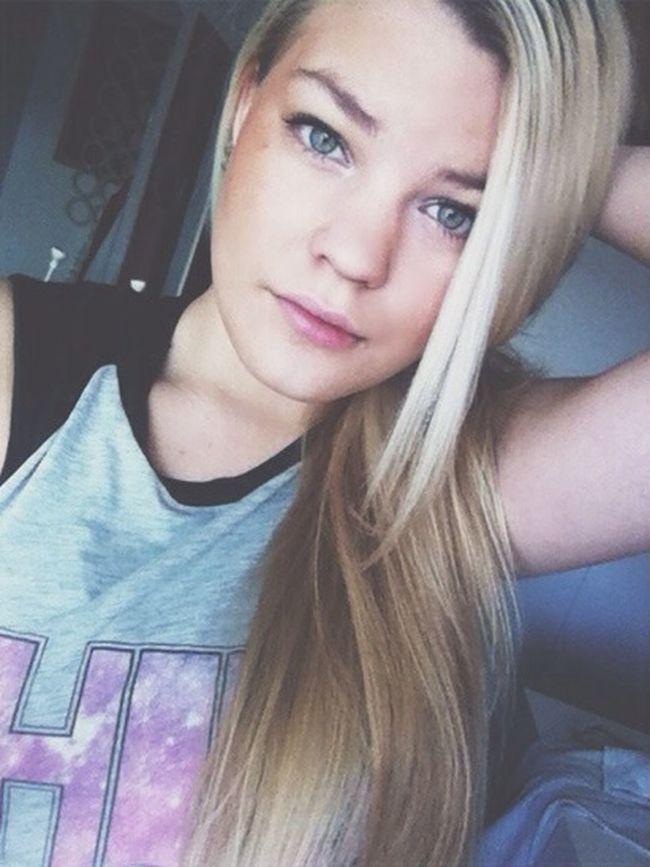 Hello World Enjoying Life Blonde Finnishgirl
