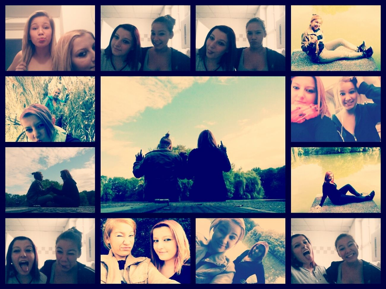 Best Friends Forever !<3 Awwwwwwwe She Is The Best Forever Together.! I Love My Best-friend.♡