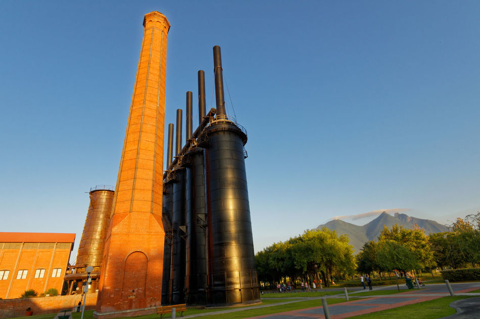 Fundidora Architecture Fundidorapark Industrial Photography Low Angle View No People Sky Steel Factory Steel Structure
